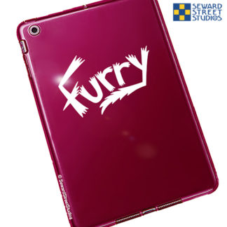 Furry Vinyl Decal