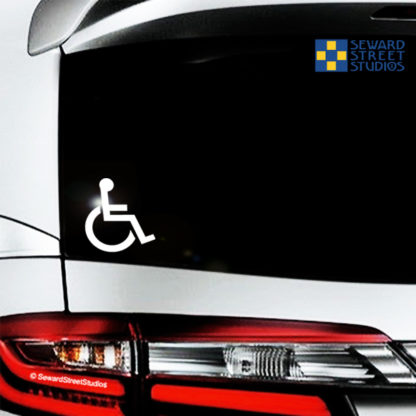 Handicap Symbol Vinyl Decal