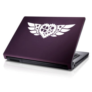 Seward Street Studios Steampunk Winged Heart Vinyl Decal