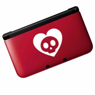 Seward Street Studios Heart Skull Vinyl Decal