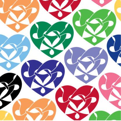 Knotwork Heart Vinyl Decal