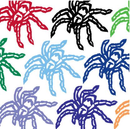 Spider Vinyl Decal