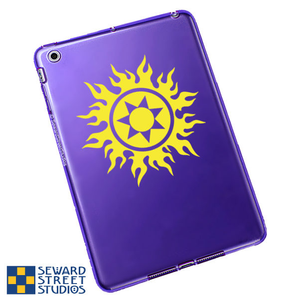 Seward Street Studios Tribal Sun Vinyl Decal