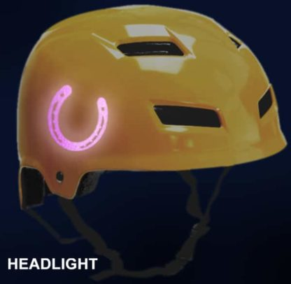 Hyper Reflective Horse Shoe Decal