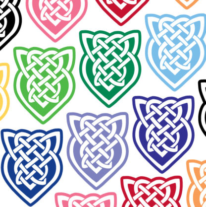 Shield Knot Vinyl Decal