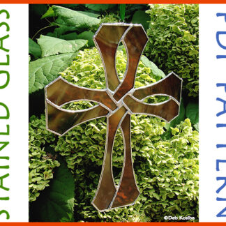 Celtic Cross Stained Glass Pattern PDF