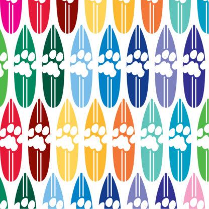 1176 Seward Street Studios Cat Print Surfboard decal in multiple colors